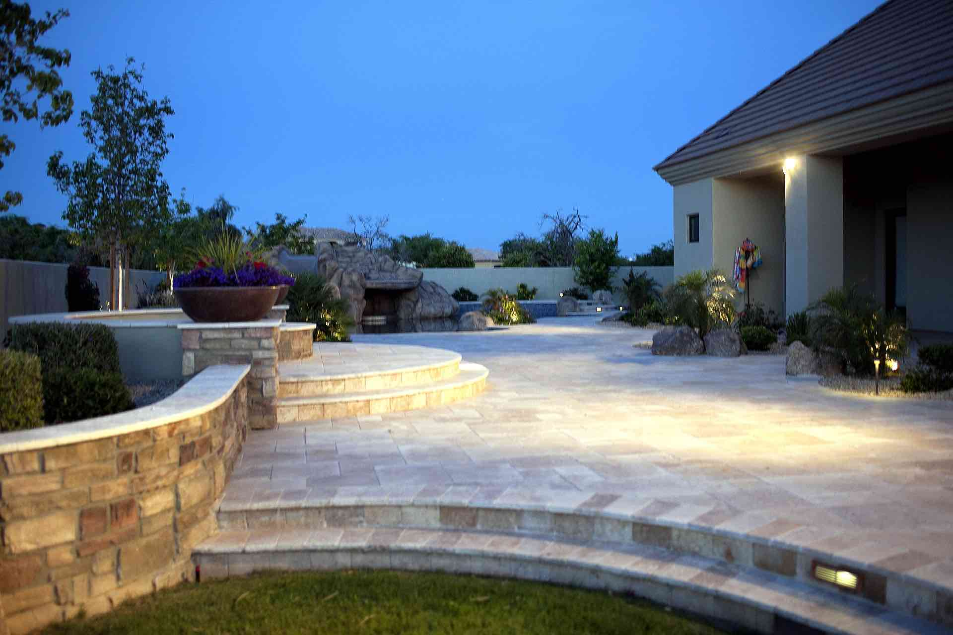 patio landscaping budget and backyard on ideas top a